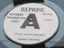 FRANK SINATRA   DEMO  45    LITTLE DRUMMER BOY    ADVANCE PROMOTION COPY