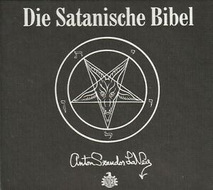 DIE SATANISCHE BIBEL - Anton Szandor LaVey - Hörbuch / CD SET - OVP