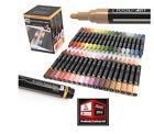 New, Tooli-Art 36 Acrylic Paint Markers Pens Skin Natural Earth Colors Set