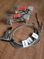 Gibson Les Paul 50's Wiring 500k Long Shaft Push/Pull Coil Split Switchcraft CTS