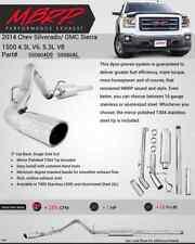 MBRP Cat Back Exhaust For 2014-2016 Chevy Silverado 1500 4.3L & 5.3L S5080AL