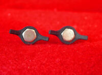 Simplex Shift Lever Wing Nuts Shifters (2)  Black New
