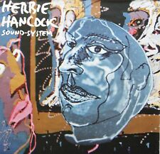 Herbie Hancock 1984 Sound System Future Shock Cbs Promo Poster 3B39478 Original