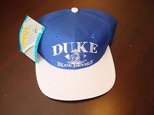 DUKE BLUE DEVILS DIAMOND  big logo SCRIPT NEW VINTAGE 90'S HAT CAP  SNAPBACK