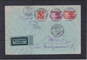 SELTEN - ERSTFLUG Flugpost ECHT gelaufen 31.3.1930 Sonderstempel LESEN !!!!!l