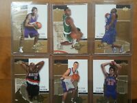 LEANDRO BARBOSA XRC WITH 6 CARD 2002-03 UPPER DECK INSPIRATIONS  /1499   /2999