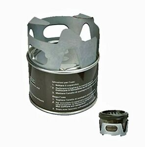 M71 Swiss Army Military Surplus Portable Camping Emergency Cup Stove Sterno Type