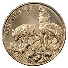 Poland / Polen 1999 - 2zl Wolf
