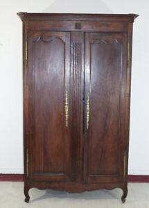 antico armadio Luigi XVI 1800 in rovere massello francese