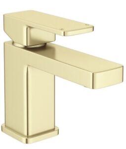 Toreno Modern Brushed Brass Basin Mono Mixer Tap BNIB
