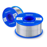 Tin Lead Free Rosin Core Solder Wire for Electrical Soldering Flux 0.8mm 100g