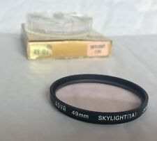 Vintage Hoya 49mm Skylight (1A) Filter