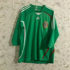 Mexico Home football shirt 2008 - 2009 Adidas Soccer Jersey Size L
