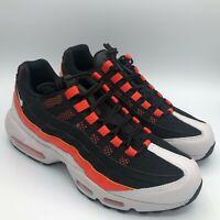 Nike Air Max 95 Black Grey Orange White Mens Shoes Sneakers Size CD7792-001
