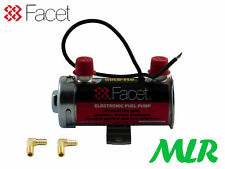 FACET Rojo Top Bomba Eléctrica de Combustible con Accesorios Carbohidratos