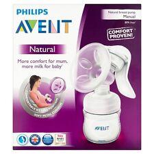 New Philips Avent SCF330/20 Manual Natural Breast Pump BPA FREE