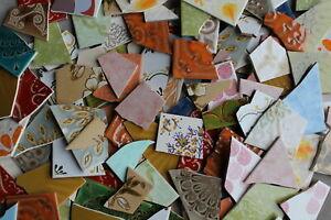 Retrofliesen Fliesenbruch Mosaik 3 Kilo - verschiedene Retro Vintage Muster