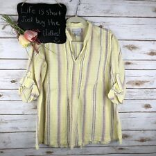 8d80920a974 Soft Surroundings Petites Striped Tops & Blouses for Women for sale ...