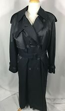 Ivan Grundahl Goth Trench Coat Black Leopard Print Lined 38 US 10 NWT Orig $900