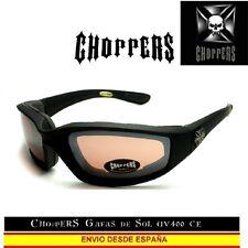 CHOPPERS Gafas de Sol UVAB Moto Acolchado Sunglasses Lunettes Occhiali