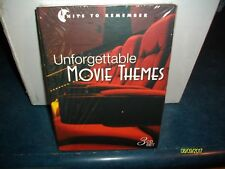 UNFORGETTABLE MOVIE THEMES 3 CD SET BRAND NEW AND SEALED