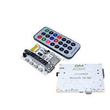 Wireless Bluetooth MP3 FM Decoder Board Audio Remote Module USB TF Radio For Car