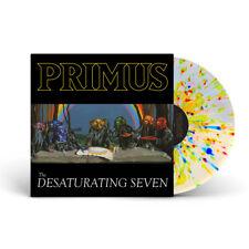 Primus The Desaturating Seven RAINBOW SPLATTER VINYL LP Record les claypool NEW!