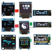 4/7Pin I2C SPI 0.91/0.95/0.96/0.66/1.3 inch OLED LCD LED RGB Blue Yellow/White