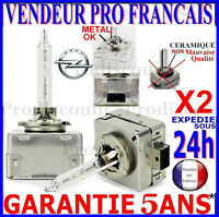 2 D3S AMPOULES XENON LAMPE FEU PHARE 35W HID 5000 6000 8000 POUR OPEL 12V