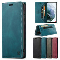 Shockproof Case Flip Wallet Leather Stand Case Cover For Samsung Galaxy Phone