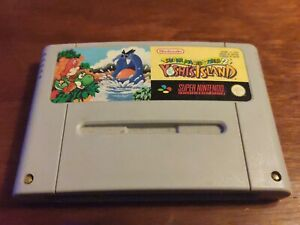 YOSHI'S ISLAND FAH Super Nintendo SNES Super Mario World 2