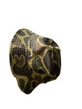 Camo Bucket Hat Army Vintage