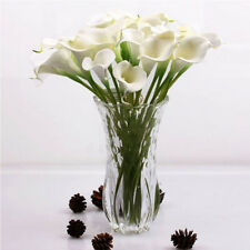 Hot Artificial Calla Lily Wedding Bridal Bouquet Fake Flowers DIY Home Decorh