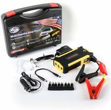 Portable Car Battery Jump Starter (up to 6.5L Gas, 5.2L Diesel Engine)