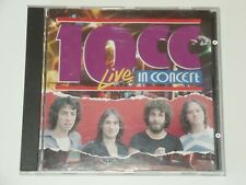 10cc In Concert - 10cc Live 1977 UK Import CD Picwick XCLNT I'm Not In Love