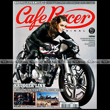 CAFE RACER ORIGINAL N°61 HERVE PONCHARAL YAMAHA SR 400 BRUNO VECCHINO CHOPPERS