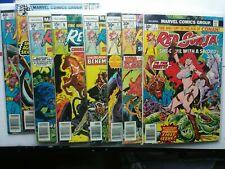 Marvel Red Sonja LOT, COMPLETE! V1,2,3; & Spider-man/Red Sonja 1
