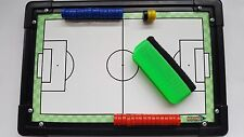 Diamond Micro Tactic Board -  Managers Coaches Tactics Counters Wipeable 30x20cm