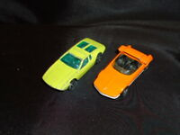 B9 Corgi Juniors Whizzwheels die-cast lot of 2, Bertone Runabout & De Tomaso...