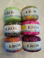 Plymouth Eros Ladder/Trellis Yarn - 6 colors Buy multiples and save on shipping