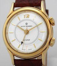 Revue Thommen Cricket Armbanduhr mit Wecker Kal. RT 79 - OVP Papiere Ref 7922001