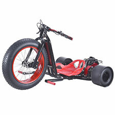 Gas Powered Big Wheel RED Drift Trike 2 Stroke 49cc 30mph Scooter X