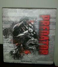 Sideshow Legendary Scale Bust Statue Predator Masked Hunter Opened Complete