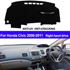For Honda Civic 2006 - 2009 2010 2011 Dash Mat Dashboard Cover Right Hand Drive
