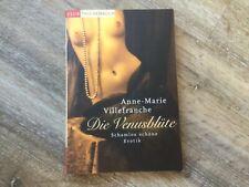 Die Venusblüte Roman TB Erotik Anne- Marie Villefranche Top i.O.