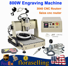 Cnc 3040 Router Engraver 5 Axis 3d Cutter Engraving Milling Machine Withcontroller