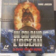 Un cri dans l'océan LASERDISC LD PAL Treat Williams Famke Janssen 1998