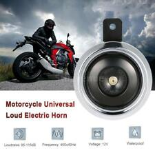 DC 12V 1.5A 105dB Universal Waterproof Motorcycle Loud Electric Horn K9F6