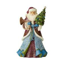 """Jim Shore """"Sounds And Sights Sure To Delight"""" Victorian Santa With Tree ~ New"""