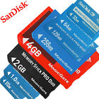 SanDisk 128MB 512MB 1GB 4GB Ultra Extreme Memory Stick Pro Duo Memory Card New